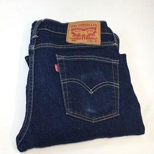 Levi's 510 Men's Jeans 29 x 30 Dark Indigo